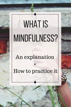 Ever wonder what mindfulness is? How do you practice mindfulness? It& best described and defined through practice, activities and mindfulness exercises. Meditation Exercises, Mindfulness Exercises, Mindfulness Activities, Mindfulness Practice, Meditation Practices, Walking Meditation, Daily Meditation, Mindfulness Meditation, Meditation Music