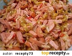 Pikant salát recept - TopRecepty.cz Czech Recipes, Ethnic Recipes, New Menu, Potato Salad, Cabbage, Food And Drink, Appetizers, Vegetables, Cooking