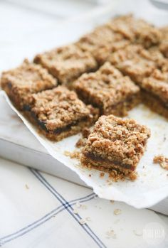 Pure Ella | 5 Ingredient Gluten-free Vegan Date Squares