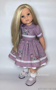 Нужна помощь / Одежда и обувь для кукол своими руками / Бэйбики. Куклы фото. Одежда для кукол American Girl Dress, American Doll Clothes, Girl Doll Clothes, Doll Clothes Patterns, Clothing Patterns, Girl Dolls, Doll Fancy Dress, Og Dolls, Nice Dresses
