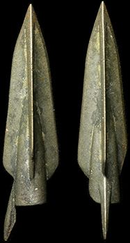Tri-lobate and barbed type. 37 mm Still very sharp! Ancient Ruins, Ancient Greece, Greek Artifacts, Mounted Archery, Greek Antiquity, Helmet Armor, Traditional Bow, Greek History, Longbow