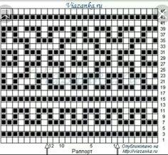 A lazy jacquard or crochet – knitting charts Mosaic Knitting, Intarsia Knitting, Knitting Charts, Knitting Stitches, Afghan Crochet Patterns, Crochet Squares, Stitch Patterns, Knitting Patterns, Crochet Diagram