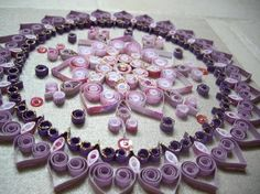 toile quilling by L¨As Créations