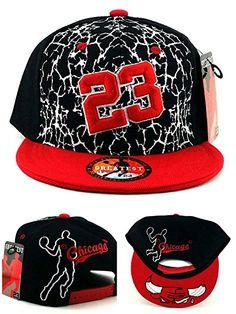 sale retailer 50ee2 fe987 Chicago New Greatest 23 MJ Youth Kid Jordan Bulls Black Red White Cement Era  Snapback Hat Cap