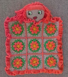 Look over me, red-head, primavera, lovey blanket! #crochet #lovey #blanket #baby #primavera