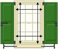 1000 Images About Shutter Tips Measuring Installing On Pinterest Shutters Outdoor Window