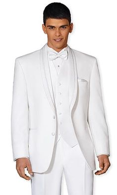 Tuxedo Rentals - Rent Formal Wear - Style 49: After Six El Rey White