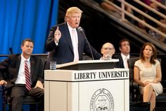In the face of opposition from students, Liberty University officials are defending the school's invitation to Republican presidential candidate Donald Trump to speak on campus Monday – Martin Luther King Jr. Day.