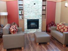 Ronald McDonald House Toronto family room lounge