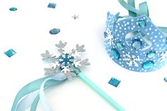 Den Kreative Sky: DIY - Frost diadem og tryllestav - Skabelon