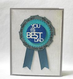 you are the best dad card #fathersday