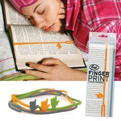 Fingerprint Handy Bookmark / Fred