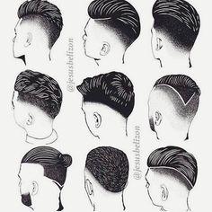 Tu elige tu propio estilo! Barriello Peluqueros #barber #barbershop #barberlife #barberia #hairstyle #barberinternational #barriellopeluqueros by barriello_peluqueros