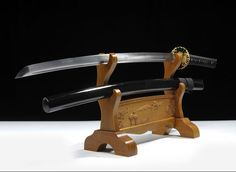 $79.00   Buy retro metal  Handmade Katana sword Japanese  ninja katana cosplay prop genuine  sharp blade Souvenirs Gifts from Reliable souvenir keychain suppliers on Chinese famous sword