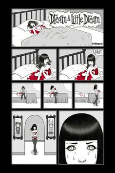 Tara McPherson | ART Illustrations Comics - Dream a Little Dream Dream A Little Dream, Page 1 of 3