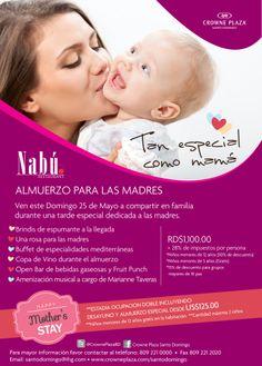 Celebra el Día de las Madres en nuestro Restaurant Nabú.