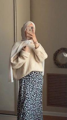 Hijab Fashion Summer, Modern Hijab Fashion, Street Hijab Fashion, Hijab Fashion Inspiration, Muslim Fashion, Modest Fashion, Hijab Fashion Style, Mode Outfits, Fashion Outfits