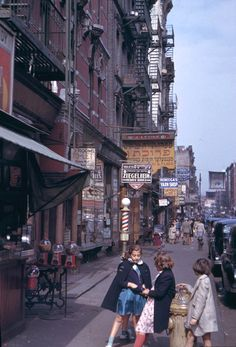 Lower East Side by Charles Cushman