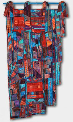 Gypsy Abstract Art Quilt