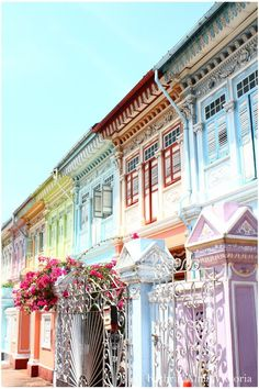 Peranakan Antique Houses.   THE LIBYAN Esther Kofod www.estherkofod.com