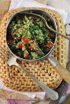 Taboulé libanais {recette végétalienne} Tangerine Zest Healthy Diet Recipes, Raw Food Recipes, Vegetable Recipes, Indian Food Recipes, Salad Recipes, Vegetarian Recipes, Ethnic Recipes, Polenta, Gnocchi