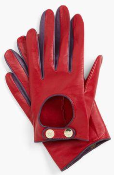 Ted Baker Red Leather Gloves Nordstrom TheBestRedDress.com