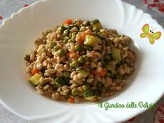 Couscous Quinoa, Cooking Recipes, Healthy Recipes, Fried Rice, Italian Recipes, Risotto, Brunch, Food And Drink, Menu