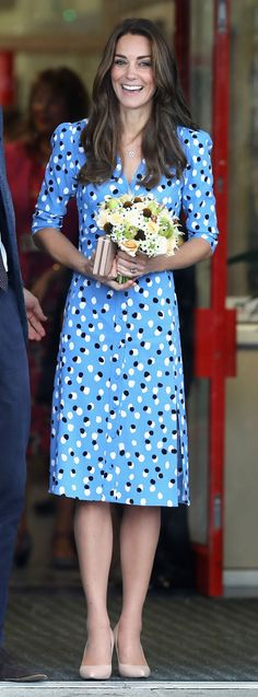 The Duchess of Cambridge debuts a new look before an international junket to North America.