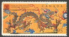 Canada Stamp 2000 - Year of the Dragon