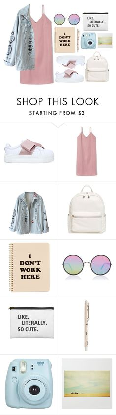 """""""Outfit #150"""" by jordancydney ❤ liked on Polyvore featuring Kurt Geiger, BP., ban.do, Sunday Somewhere, kikki.K and Fujifilm"""