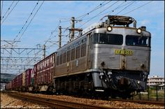 Japan - Freight train -  EF81-303