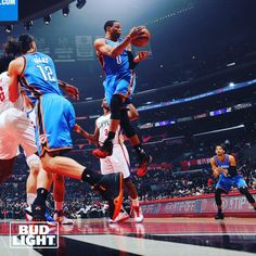 """42k Likes, 118 Comments - Oklahoma City Thunder (@okcthunder) on Instagram: """"Bud Light Photo of the Night. You agree? Double tap pic if you do."""""""