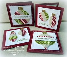 White House Stamping: Little Washi Ornaments