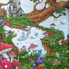 #mythomorphia #kerbyrosanes #mycreativeescape #fabercastellpolychromos #polychromos #fabercastell #adultcoloringbooks #adultcoloringbook #adultcoloring #colouringforgrownups #stressrelief #mycreativeescape #myownworld #mymasterpiece #coloringmasterpiece #colouring #animorphia #imagimorphia #wip #fantasyart #coloringoninstagram