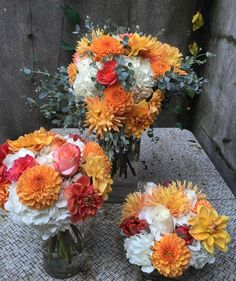 cool vancouver florist Arrangements designed by Sara. Love the bold tangerine citrus look. #flowerfactory #fallflowers #flowersofinstagram by @flowerfactory  #vancouverflorist #vancouverflorist #vancouverwedding #vancouverweddingdosanddonts