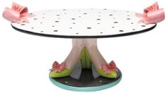 Appletree Design Cake Stand's, 14-1/2-Inch Long, Plate Detaches from Base Appletree Design http://www.amazon.com/dp/B007W555FG/ref=cm_sw_r_pi_dp_MfjXtb0DA9SER19D