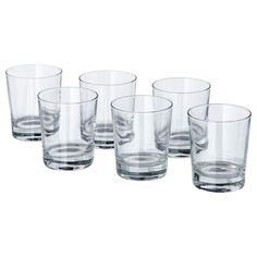 IKEA - GODIS, Glass, 8 oz, , The glass has a simple low and straight shape which makes it perfect for all types of cold drinks, such as cocktails without ice.The glass has a wide shape which allows you to also use it as a bowl for serving delicious desserts.