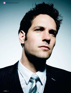 Paul Rudd! Always had a crush on him since Clueless ;)- He is a cutie!! Quirky but cute!