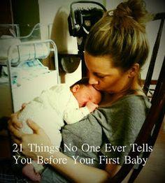 Consejos para tu primer bebé