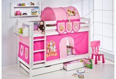 Caballeros y Princesas, camas semi altas y literas para niños - DecoPeques