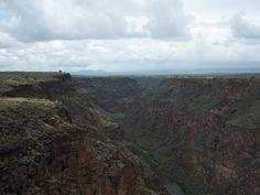 Rio Grande Gorge - Taos, New Mexico.