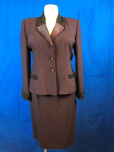 Albert Nipon Evening Plum Blazer/Skirt Sz 16 | #eBay Your Invited #CyberMonday the #hotitems at #selinfinity - #onlineboutique #onlineshopping #womensclothing #discountsale #salesevent #greatgifts #giftsforher #fashion #buzz #trendinghttps://www.ebay.com/itm/172997860336