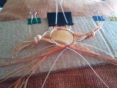 Ideas!!! Cómo hacer una pulsera de macramé con piedra paso a paso - Artesanía Llangka
