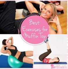 Best Exercises for Muffin Top | GirlsGuideTo