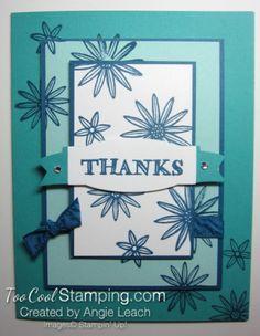 Dapper denim triple time - grateful thanks