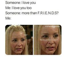 Funny Texts Jokes, Cat Jokes, Funny Memes, Hilarious, Friends Scenes, Friends Moments, Friends Tv Show, Friends Poster, Friend Memes
