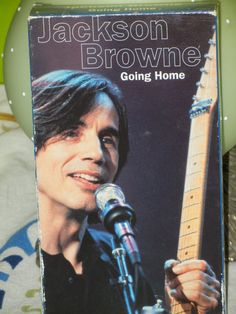 Jackson Browne Concert VHS Going Home MTV  Documentary  Doctor My Eyes Running on Empty In the Shape of a Heart Take It Easy The Pretender by GailsPopCycle on Etsy