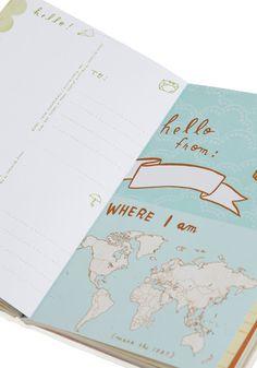 Bon Voyage Travel Journal