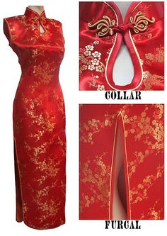 chinese001 A-line mandarin collar with 2 single-line buttons elegant Chinese wedding dresses