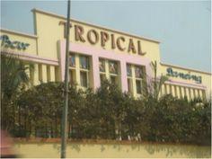 Cine Bar Dancing Tropical , Avenida de Brito Godins . Luanda . Night Club, Night Life, Colonial Architecture, Hot Springs, Tropical, Puerto Rico, Scenery, Africa, Island